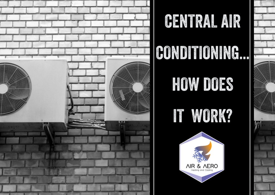 Central Air Conditioning - How Does it Work?